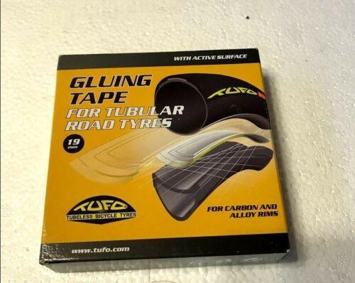 TUFO Gluing Tape Road Bike 700c Tubular Tires Carbon Alloy Sew Up 19mm x 2M