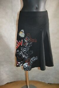 JUPE-DESIGUAL-NEW-TAILLE-S-36-SKIRT-GONNA-FALDA-ROCK-TBE