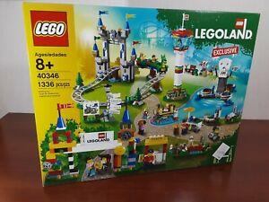 LEGO 40346 Legoland Park Exclusive 1336 Pieces!