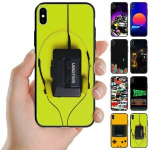 For Apple iPhone Series - 1980s Retro Trend Print Back Case Mobile Phone Cover