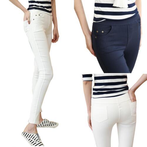 Women/'s Skinny Plus Size Soft Elastic Trousers Slim Stretch Legging Pants Proper