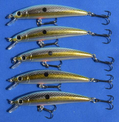 RENEGADE LASER MINNOW  STYLE LURES 5