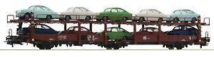 Roco-H0-76459-Autotransportwagen-mit-VW-1600-TL-der-DB-034-Neuheit-2020-034-NEU-OVP
