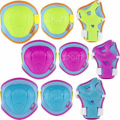 Schutzausrüstung Set SCHONERSET Knieschoner für Kinder Handgelenkschoner