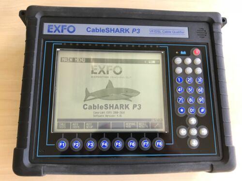 Exfo CableSHARK P3 VF//DSL Cable Qualifier POTS DSL Tester