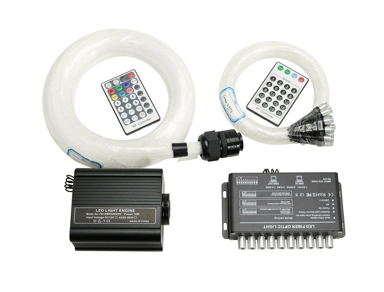Meteor, Non-Twinkle 28 Keys Remote Control for FIREWORK Meteor Light Kits Fiber Optic Light Engine
