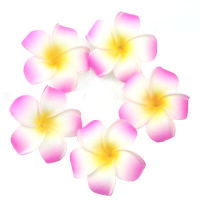 5/10/20/50pcs Plumeria Hawaiian Foam Frangipani Flower For Wedding Party Decor
