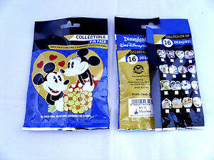 Disney-CHARACTER-COUPLES-New-amp-Sealed-5-pin-Mystery-Collectible-Pin-Pack