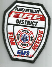 """fire patch Rescue 2  /""""Big Blue/"""" 4.5/"""" x 4.5/"""" size New York City"""