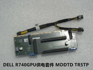 Details about Dell R740 R740XD K80 M40 K2 GPU video card power card  extension card MDDTD+Cable