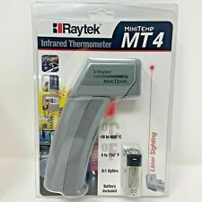 Raytek Mt4 Infrared Laser Non Contact Thermometer Gray