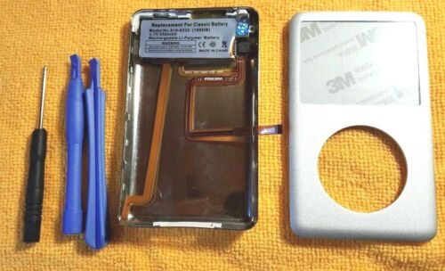 iPod classic 7th 160GB Silver back cover front case Rebuild kit