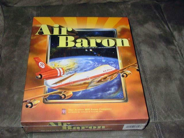 Avalon Hill AH - AIR BARON game - Building Airline Industrial Empires (SEALED)