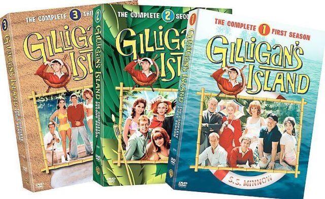 Gilligans Island - The Complete Seasons 1-3 (DVD, 2005, 9-Disc Set)
