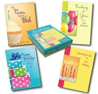 Designer Greetings Birthday Greeting Card Assortment, Box Of 12 Cards And 13 Col