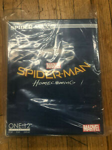 Bien Informé Marvel Mezco One 12 Spiderman Homecoming Collective Avengers Figure New No Res!-afficher Le Titre D'origine
