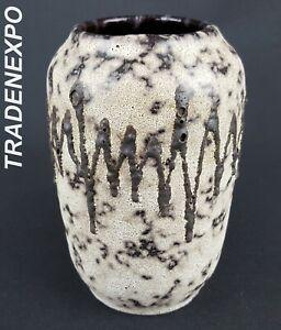 Vintage-1960-039-70s-SCHEURICH-KERAMIK-Vase-238-14-West-German-Pottery-Fat-Lava-Era