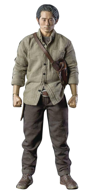 ThreeZero The Walking Dead AMC Glenn Rhee 1 6 Scale Figure