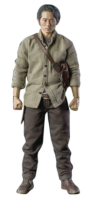 ThreeZero The Walking Dead Amc Glenn Rhee figura de escala 1 6