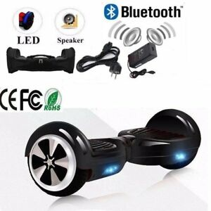 6 5 zoll hoverboard bluetooth led licht elektro scooter. Black Bedroom Furniture Sets. Home Design Ideas