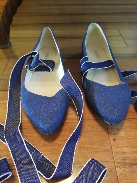 Nine West Cloud 9 Black Fabric Shoes