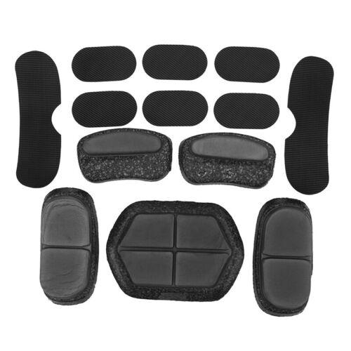 13 Pcs//Set Helmet Pads Soft and Durable EVA Motorcycle Helmet Replacement AP4T3