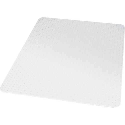 "Staples 46/"" x 60/"" Low Pile Carpet Chair Mat Rectangular 567302"