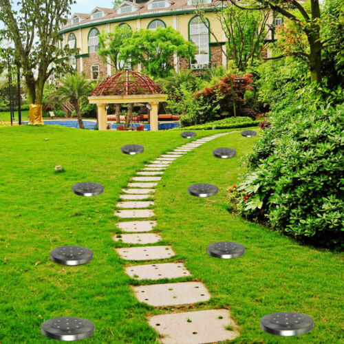 4//8x Solar Power Lawn Lights Garden Decor Patio Yard Path Ground Landscape Lamp