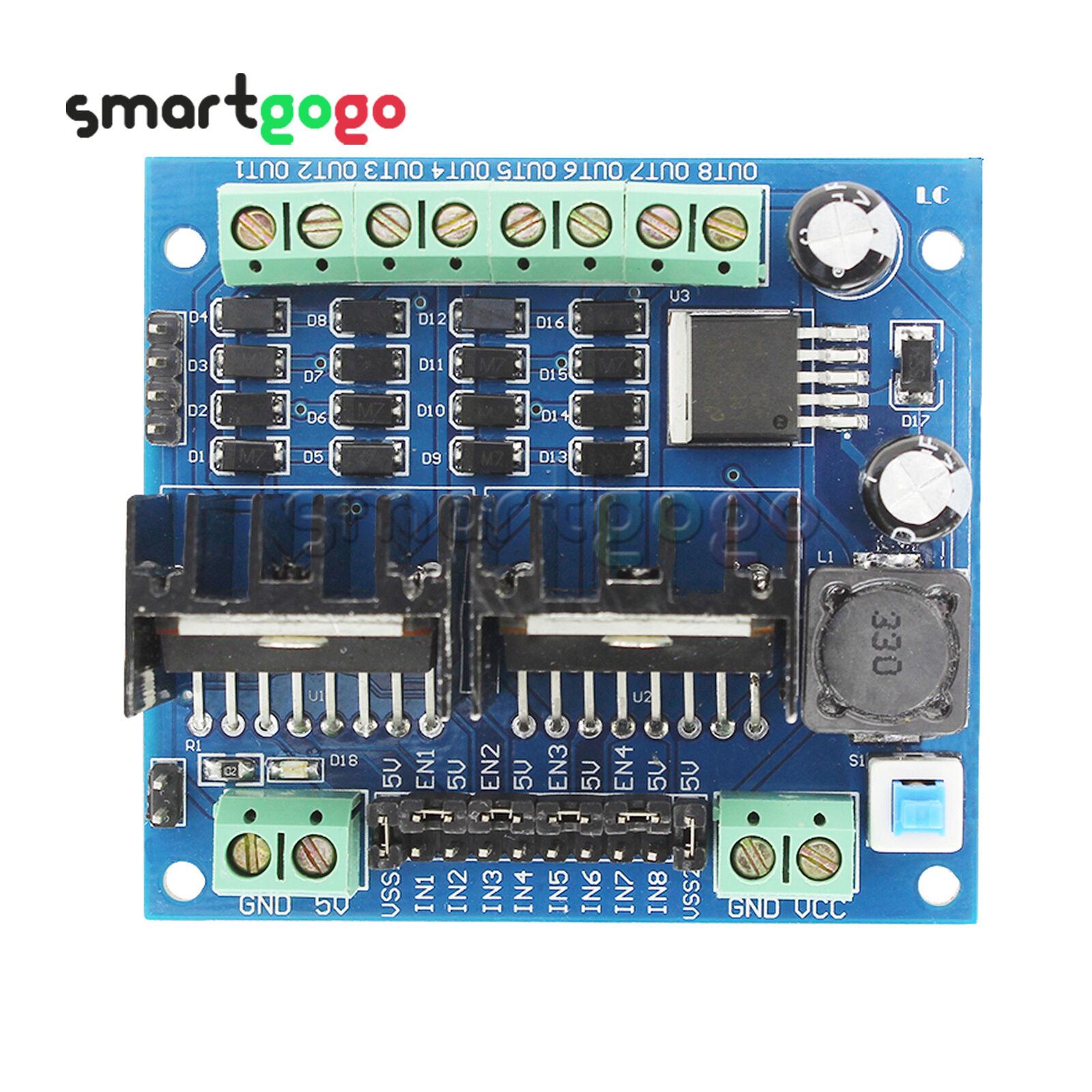 Four-way Motor Controller Board Module L298N Smart Car Drive Motor BSG