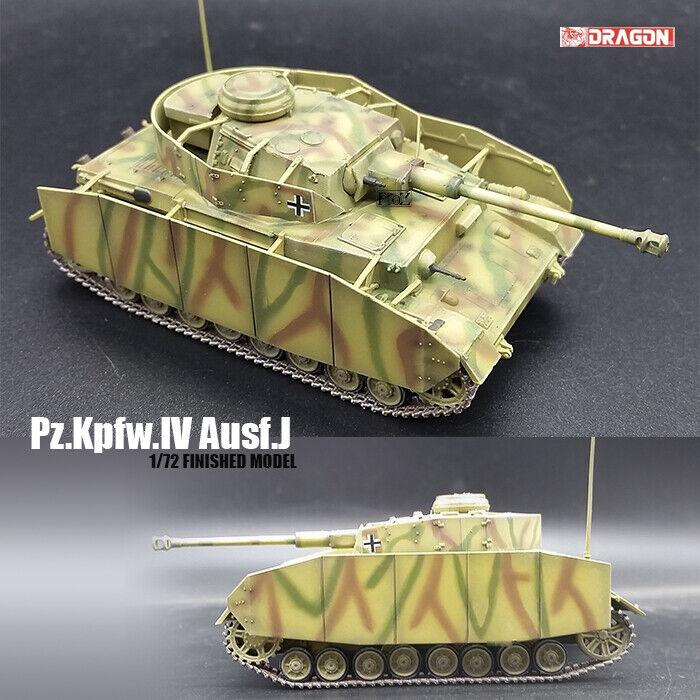 DRAGON WWII GERMAN Pz.Kpfw.IV Ausf.J 1 72 tank model finished non diecast