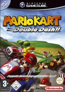 Nintendo-GameCube-Spiel-Mario-Kart-Double-Dash-DE-EN-mit-OVP