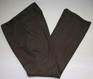 BANANA-REPUBLIC-MARTIN-FIT-talla-6-Pantalones-Pantalon-largo-marron