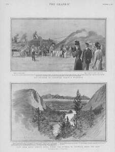 1901-Antique-Print-ROYALTY-Duchess-Cornwall-Banff-Springs-Lake-Manitoba-184
