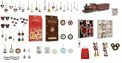 Primark Disney Noël Baubles Décoration Mickey Minnie Mouse Beauty And Beast