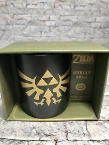 NEW The Legend Of Zelda Hyrule Glass Mug Green Nintendo Collectibles