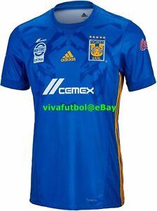 e7135abc3fd NEW Adidas Mens Tigres UANL LIGA MX MEXICO 2017/2018 Away Soccer ...