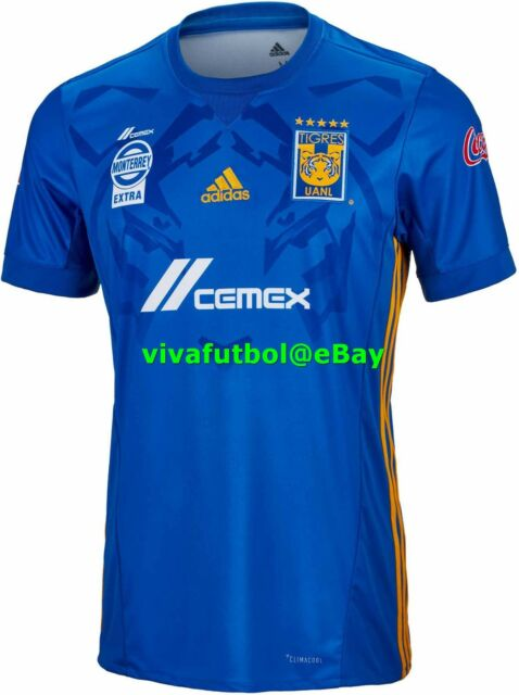 adidas Tigres UANL Away Replica Jersey Men s Blue   Collegiate Gold ... 7305f48cc