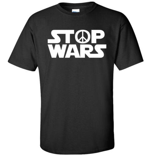 Adults /& Kids Sizes Funny Peace Korea Trump Movie Film Stop Wars T-Shirt