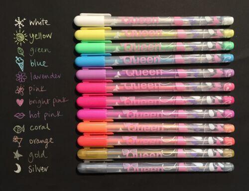 fine pens for craft card making gel chalk ink silver gold fluorescent marker