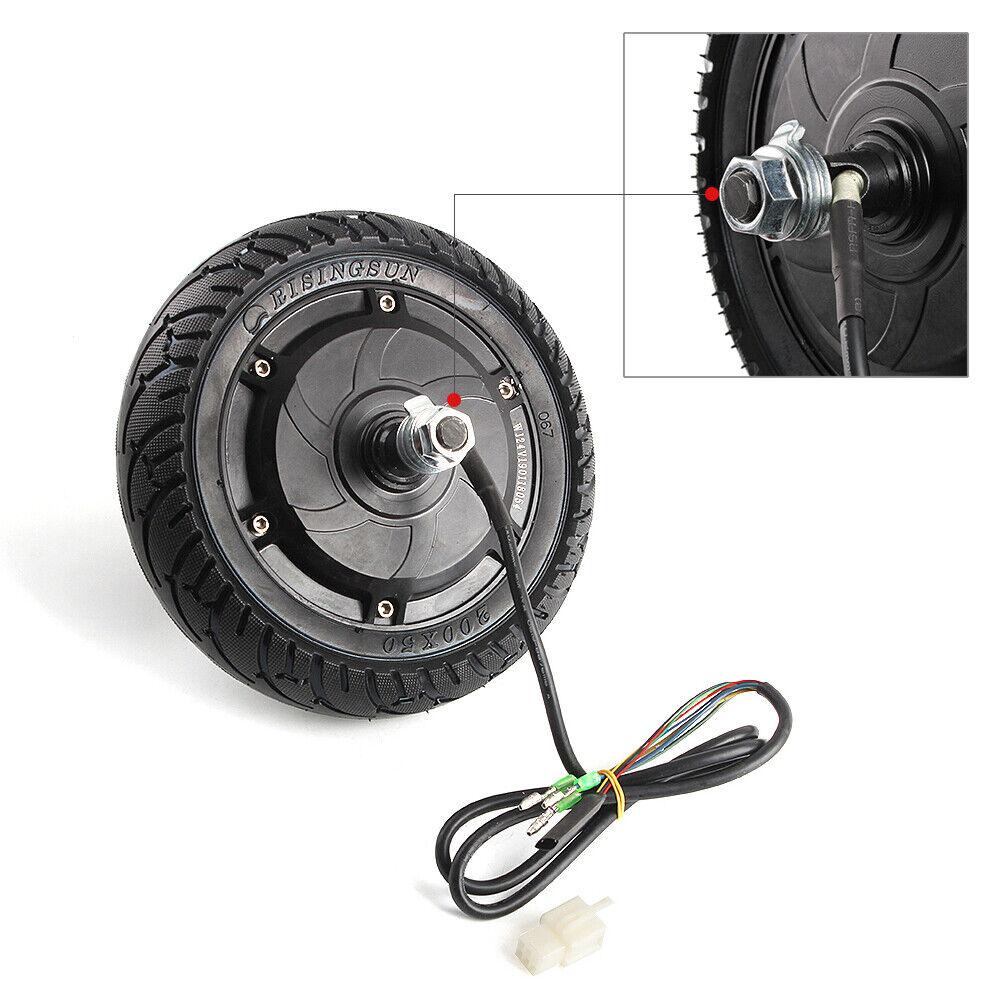 Electric Scooter Hub Wheel Motor 24V 36V 48V DC Brushless Toothless 8  Wheel CE