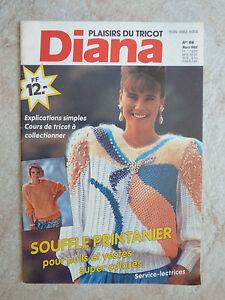 Catalogue-de-tricot-DiANA-Plaisirs-du-tricot-N-69-Mars-1992