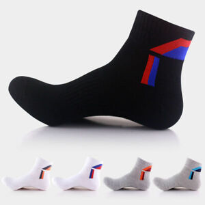 5Pairs-Mens-Sport-Socks-Lot-Crew-Ankle-Low-Cut-Fashion-Casual-Cotton-Sock-9-12