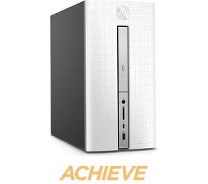 HP Pavilion 570-p059na Desktop PC - White