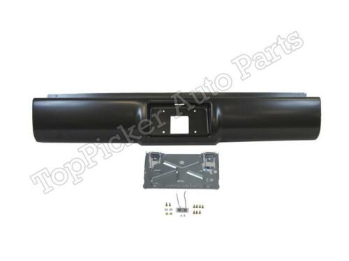 New Steel Roll Pan License Plate Holder Light For C//K Pickup Fleetside 1988-1998