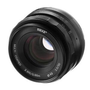 meike 50mm f2 large aperture manual focus fixed lens for sony a6500 rh ebay com sony nex 7 manual focus sony nex 7 with manual focus lenses
