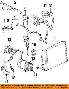 Details about GM OEM Compressor-Pulley 6580046 on