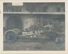 Foto Kraftwagen Kolonne 6.B.L.- KFZ-Untergestell  (X248)