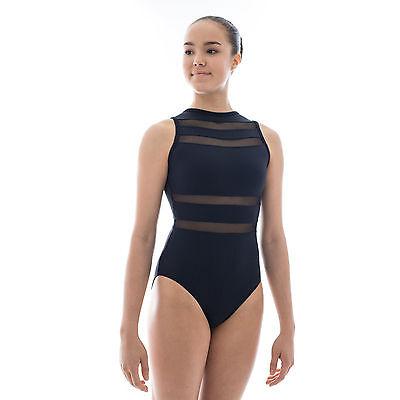 Wide Strap Back Leotard Ballet Dance Ladies Tactel DL001