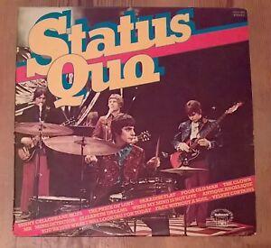 STATUS-QUO-STATUS-QUO-Vinyl-LP-Comp-33-tr-min-1978-hallmark-records-Melange-bitumineux-Chaud-260