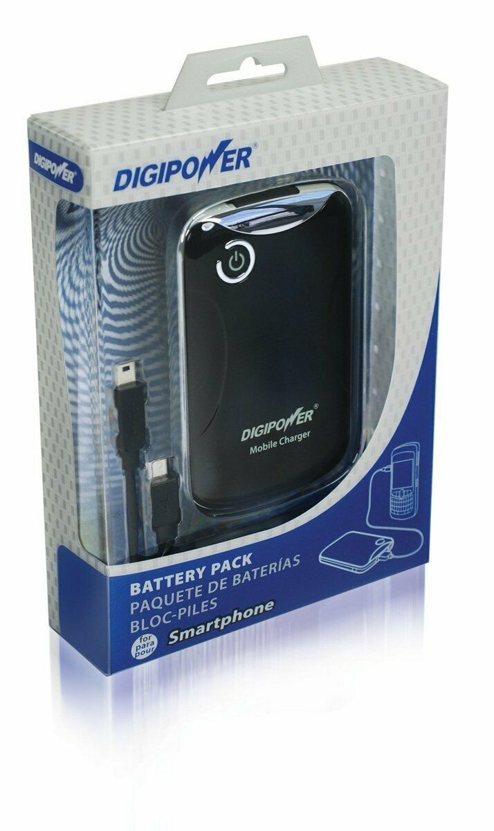 Digi Power Battery Pack - High-capacity 3000mAh Dual Lithium Polymer Battery NEW